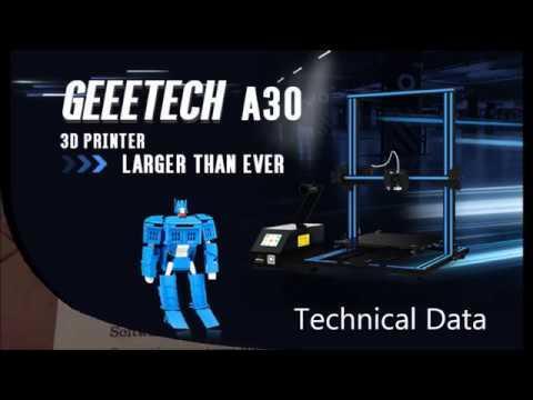 Geeetech A30 Unboxing Walkarouind