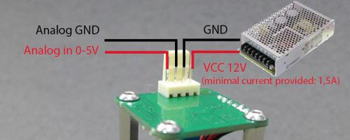 Opt Lasers PLH3D 2W Wiring
