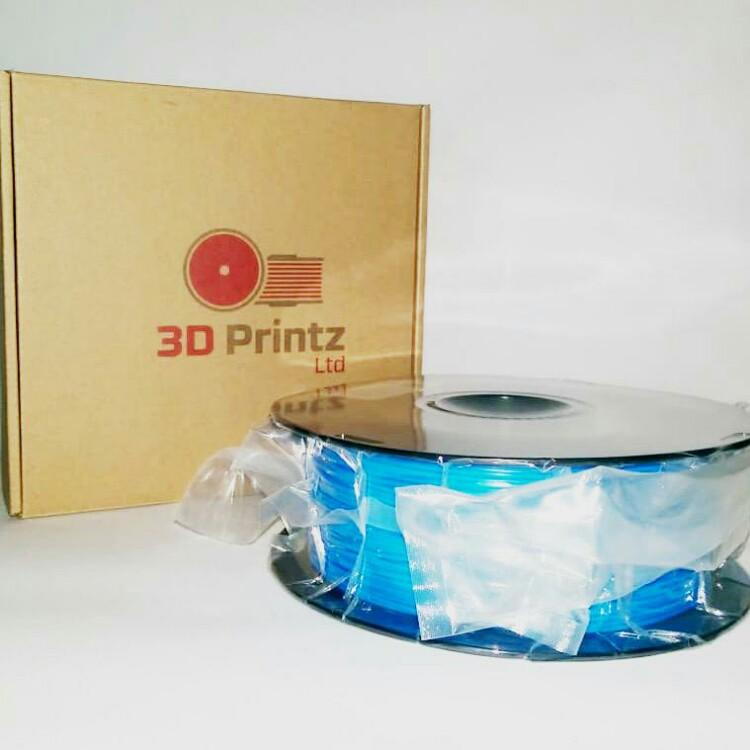 3D Printz UK Filament - Blue PLA - Featured