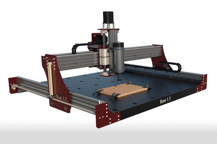 RAW CNC 1.5 - Machine Diagram - Belts