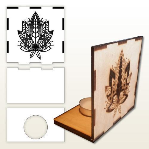 Lotus Flower Zen TeaLight