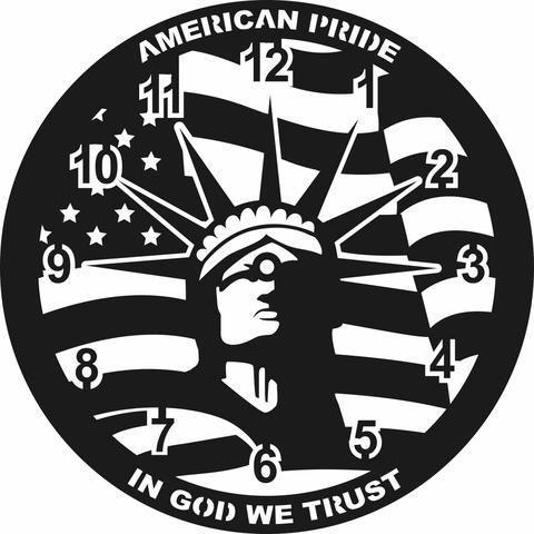 American Pride Clock