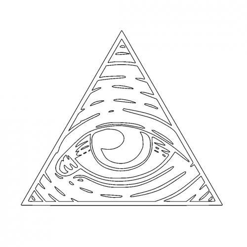 Illuminati Eye of God