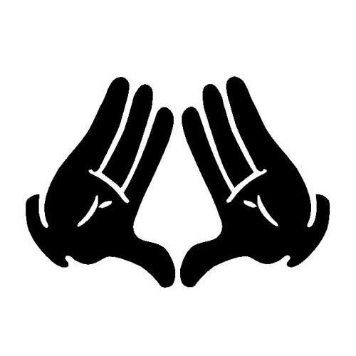 Illuminati Gloved Hands