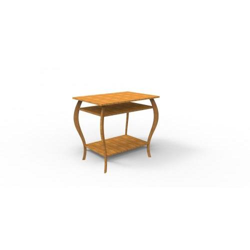 CNC File Sharing - Classic curved leg table