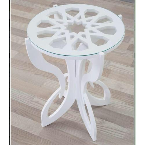 CNC File Sharing - Fancy Slot Side Table