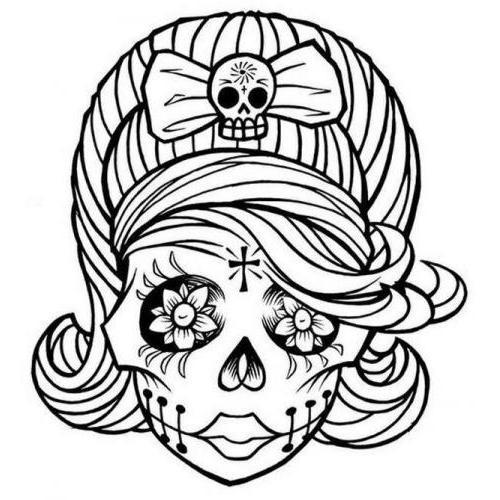 f2fd5e3206644 CNC File Sharing - Female sugar skull