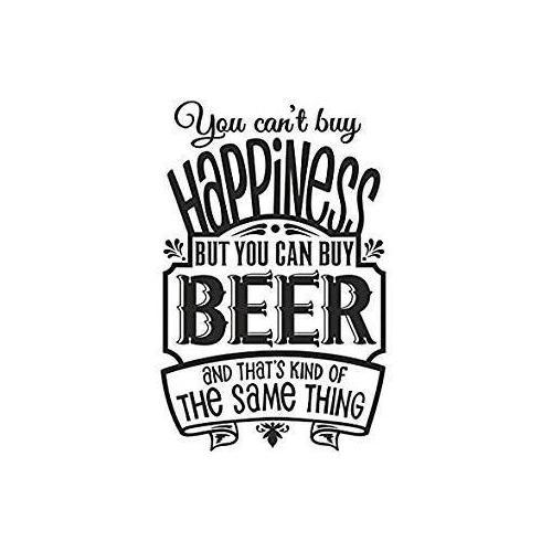 Happiness is beer plaque