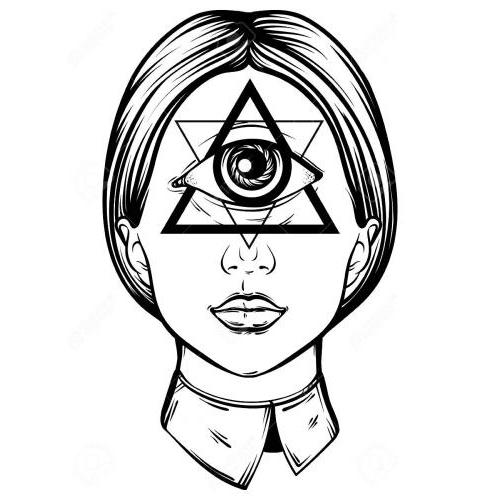 Illuminati female cyclops