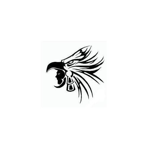 Indian chief tribal eagle