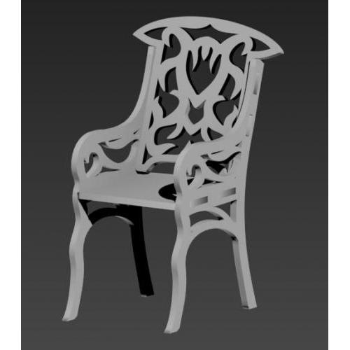 Intricate chair
