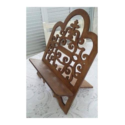 CNC File Sharing - Religious Book Stand