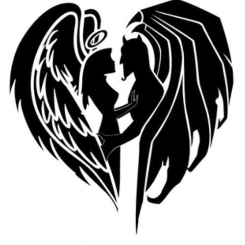 Sexy devil love heart