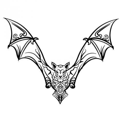 Skelton flying bat