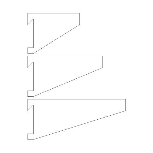Standard French Cleat Brackets