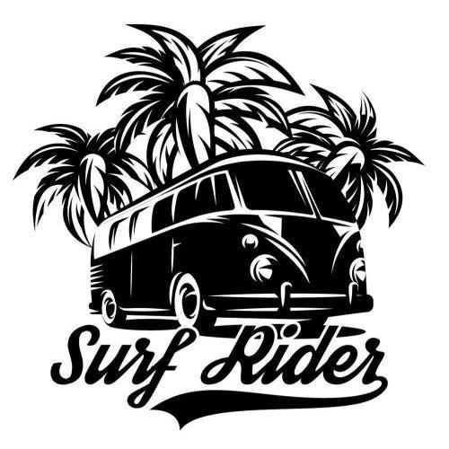 Surfs up vw camper van