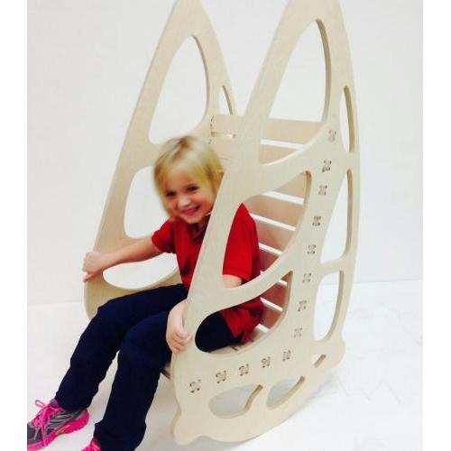 Kids Buttetfly Rocking Chair