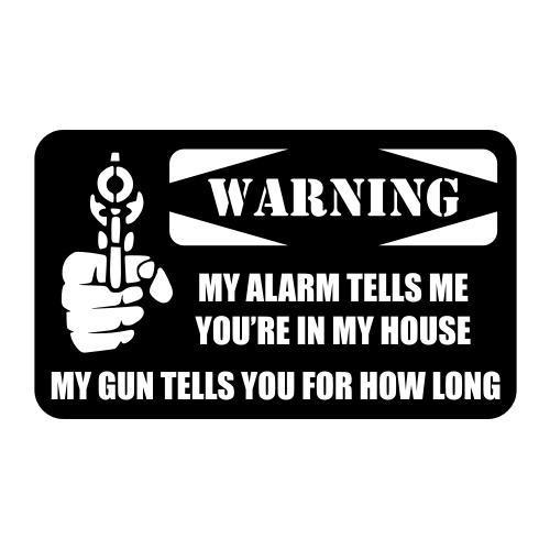 Alarm Gun Warning