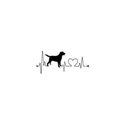 Dog heart line