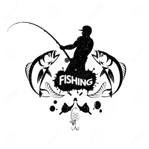 Fisherman fishing fish