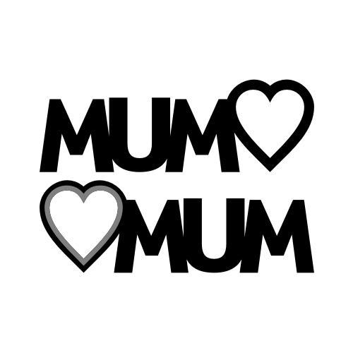 Mum Heart Picture Stand