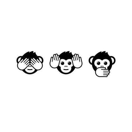 See no evil emoji monkeys