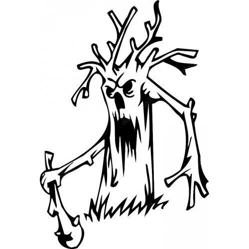 Evil monster tree