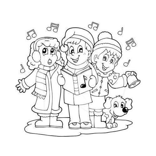 Christmas carollers carols