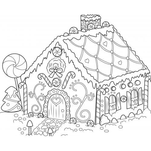 Christmas gingerbread house 2