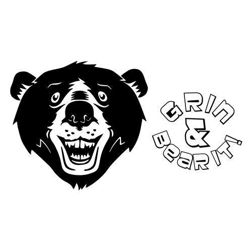 Grin & Bear It Plaque