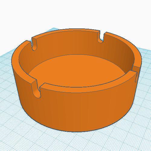 Ash Tray - 10cm Round