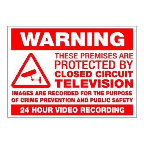 Warning CCTV Sign
