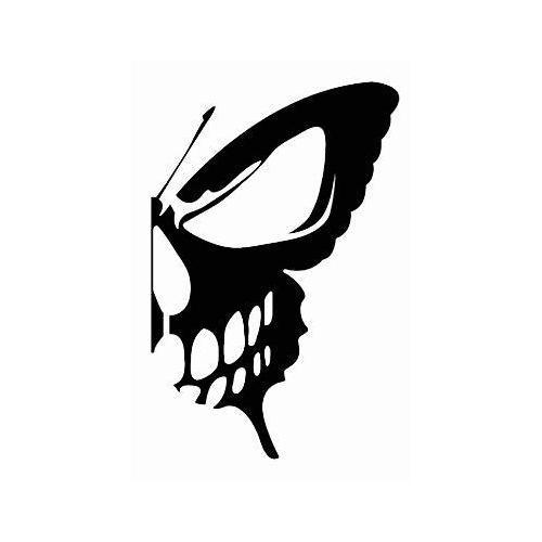 Butterfly skeleton skull