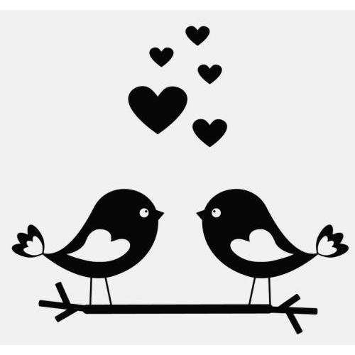 Cute love birds