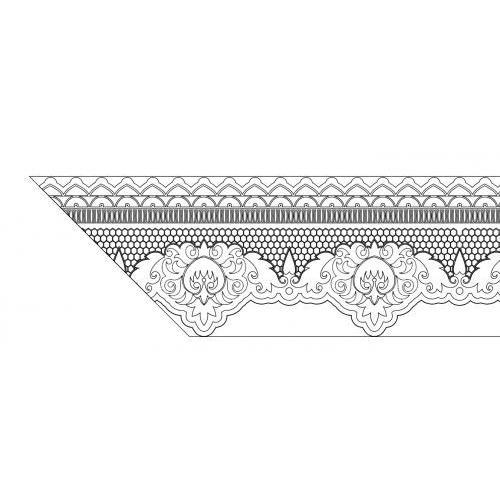 Lace Border 11x17