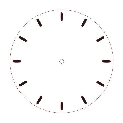 Simple Clock Face - Ticks
