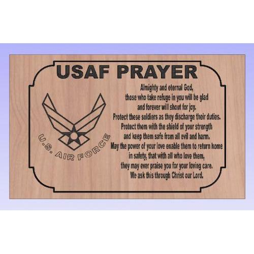 USAF Prayer Landscape
