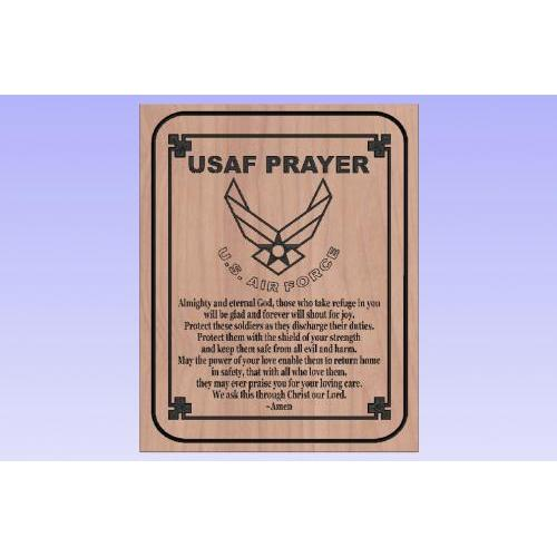 USAF Prayer Portrait