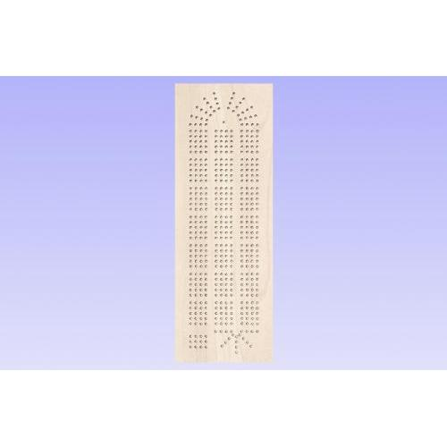 Basic Cribbage Board Template