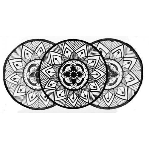 Handrawn mandalas