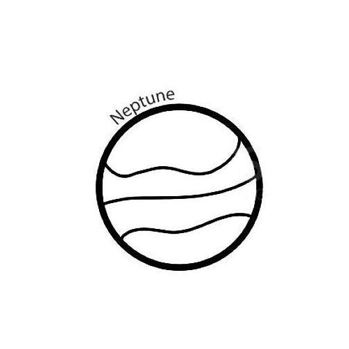 Neptune planet space