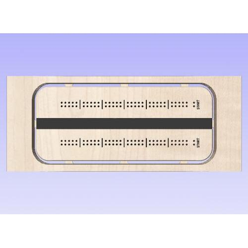 Cribbage Template 3