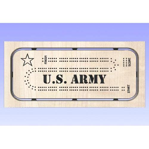 Army Cribbage Template