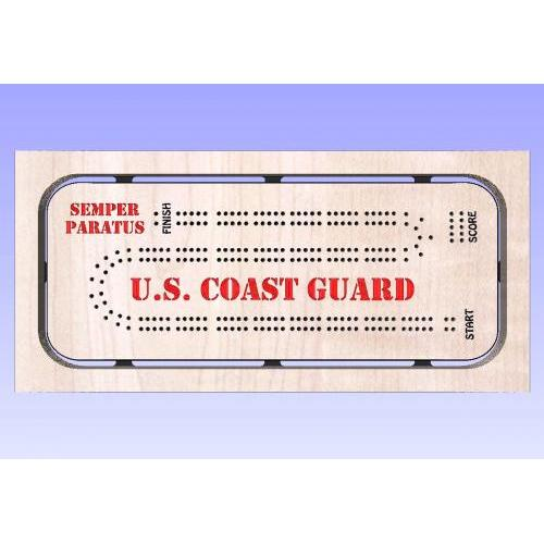 Coast Guard Cribbage Template