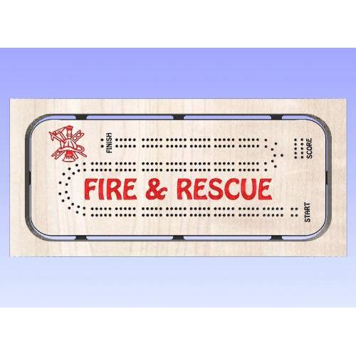 Fire Rescue Cribbage Template