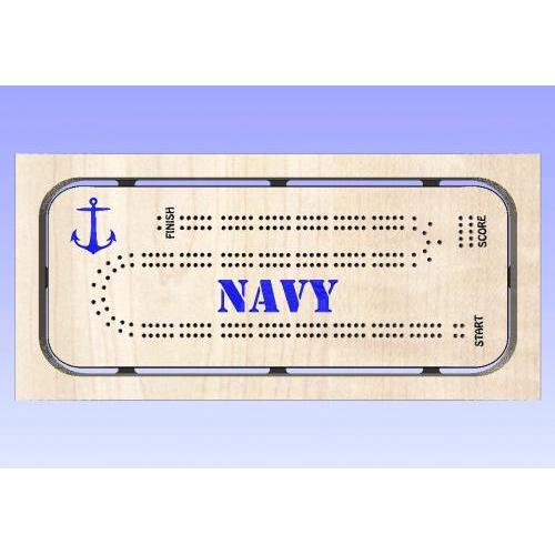 Navy Cribbage Template