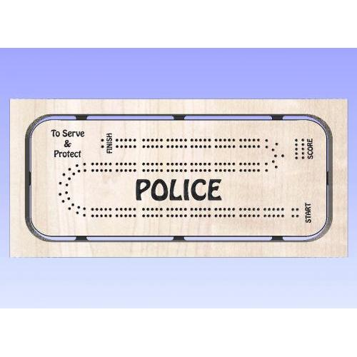 Police Cribbage Template 1