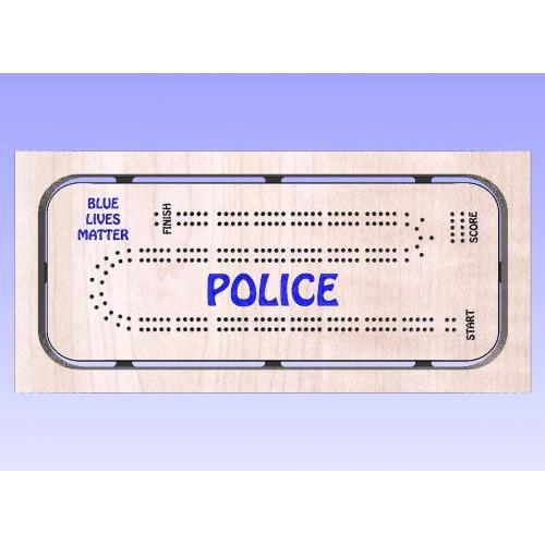 Police Cribbage Template 2
