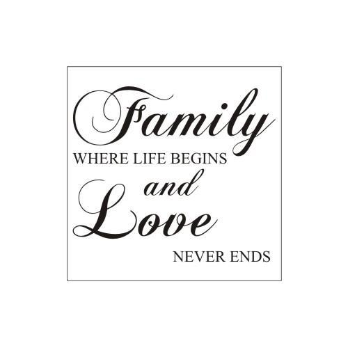 Family Life Love Begins Ends