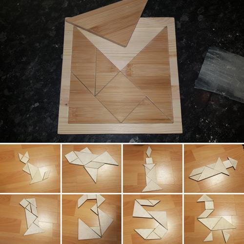 Hi-Q Pythagoras Puzzle